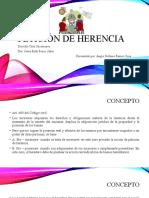 RAMOS SOSA ANGIE STEFANIE Petición de herencia
