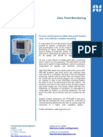 Dew Point Monitoring - FAST & EASY with compress air coupling - no complex mounting required