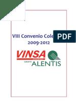 Convenio2009-12 de la empresa Vinsa.