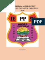 Protocolo Para La Prevencion y Monitoreo Del Contagio de Coronavirus 2020 en la  IEPPSM N° 60374