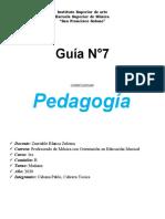GUIA 7 Pedagogia
