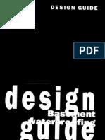 Design Guide For Basement Waterproofing