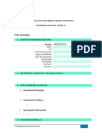 Informe Neuropsicológico MODELO ADULTOS