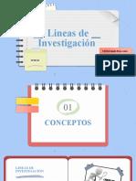 Lineas de Investigación- Tesis II