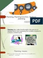 6 Planning; Planning function, Strategic planning