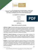 Texto Conciliacion Codigo Electoral