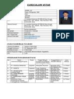 CURICULUM VITAE MUSRIL, ST. PDTI-SEBATIK UTARA 2020