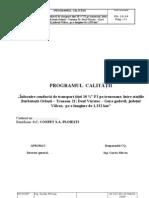 Programul Calitatii- Model