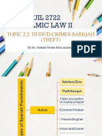 4. Topic 2_Hudud Sariqah (Theft)
