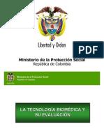 tecnologia biomedica y calificacion