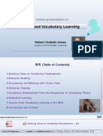 Contextualized Vocabulary Learning