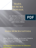 mada murch sanyasa ppt