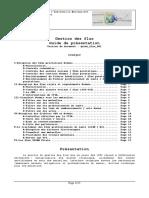 Gestion des flux Guide de présentation Version du document guide_flux_001