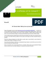 Corbeau Renard Bdf32