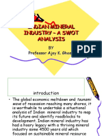 INDIAN MINERAL INDUSTRY – A SWOT ANALYSIS