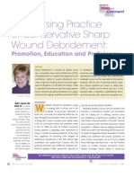 Conservative Sharp Wound Debridement