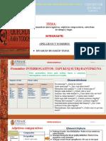 Pronombres Comparativos, Adjetivos Comparativos, Adverbios de Tiempo y Lugar