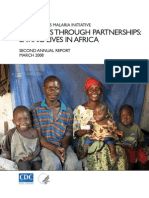 THE PRESIDENT'S MALARIA INITIATIVE - Progress through partnerships