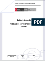 SIAF Manual Usuario Autorizacion Giros Web