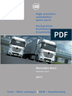 Mercedes Truck Replacement Parts Catalogue