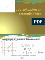 aplicacion de termodinamica