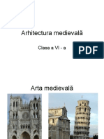 arhitectura medievala