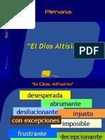 Plen 01 -- El Dios Altisimo
