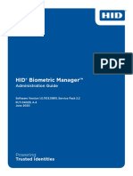 hid biometric manager administration guide