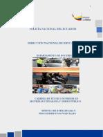 4. ESTRATEGIAS Y PROCEDIMIENTOS POLICIALES