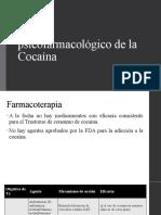 Manejo psicofarmacológico de Cocaína
