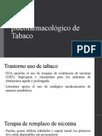 Manejo psicofarmacológico de Tabaco