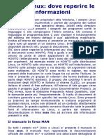 Guida Linux_ dove reperire le informazioni