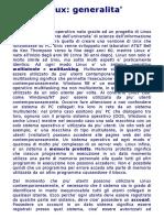 Guida Linux_ Generalita'