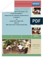 Report on MDG Target 10 and 11 Baseline Situation (D4a)