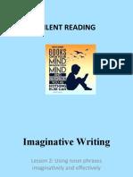 Imaginative Writing - lesson 2 using noun phrases