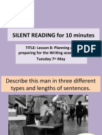 Imaginative Writing - lesson 8 planning and preparing for assessment.ppt