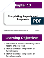 13 Completing Reports and Proposals