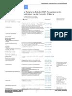 dafp concepto REGLAMENTACIÓN DISCIPLINAS ACADÉMICAS O PROFESIONES EN COLOMBIA