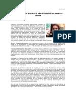 Entrevista a Francisca Fernández Droguett antropóloga