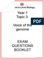 Topic 3_Voice of the genome