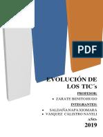 EVOLUCIÓN DE LAS TIC'S-WORD