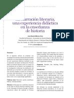 Dialnet-LaNarracionLiterariaUnaExperienciaDidacticaEnLaEns-6245327