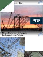 Stahlbau Tragstruktur