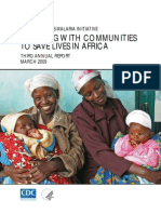 The President Malaria Initiative - Working with communities to save lives in Africa (Third Annual Report) - 2009