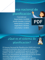 El sistema nacional de planificación 1.