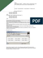 Crearea tabelelor utilizand limbajul HTML