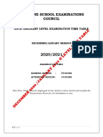 2020-2021-O-LEVEL-TIME-TABLE-