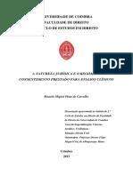 A Natureza Juridica e o Regime de Consentimento prestado para Ensaios Clinicos_1.pdf