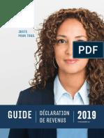 Guide_Fiscalité des particuliers Québec 2019