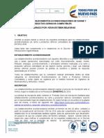 GUÍA PARA ESTABLECIMIENTOS ACONDICIONADORES DE CARNE Y PRODUCTOS CÁRNICOS COMESTIBLES
